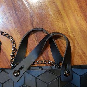 Emilio pepe Bags - Emilio pepe Italy black purse diamond cut design